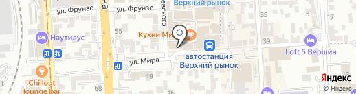 РосДеньги на карте Пятигорска
