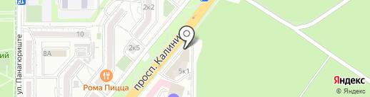 БЕРКУТ на карте Пятигорска