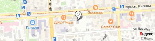 Начальная школа №17 на карте Пятигорска