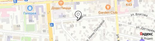 Кабинет психологической помощи на карте Пятигорска
