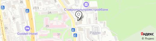 КЛИНИКА УЗИ 4Д на карте Пятигорска
