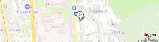 Виктори на карте Пятигорска