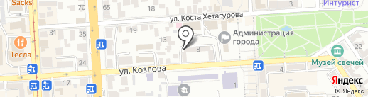 Единая Россия на карте Пятигорска