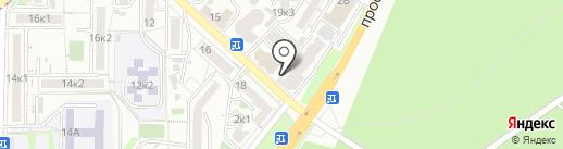 Союзлифтмонтаж-Юг на карте Пятигорска