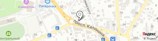 РосАвтоДеньги на карте Пятигорска