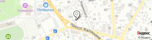 Egoist на карте Пятигорска