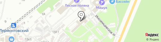Телефон доверия на карте Пятигорска