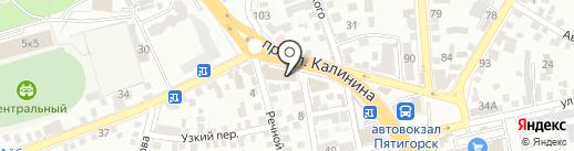 No comment на карте Пятигорска