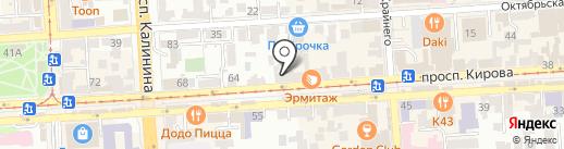 SUSHISHOP на карте Пятигорска