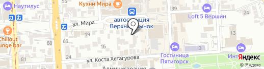 ЗаборЛего на юге России на карте Пятигорска