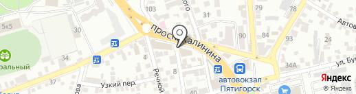 Мастерская по ремонту и пошиву одежды на карте Пятигорска