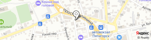 DNS на карте Пятигорска