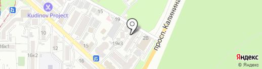 Новая клиника на карте Пятигорска