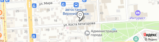 Макрософт на карте Пятигорска