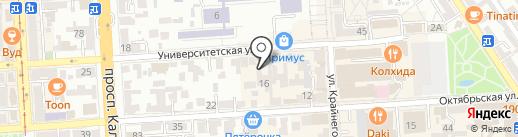 Единый расчетно-кассовый центр на карте Пятигорска