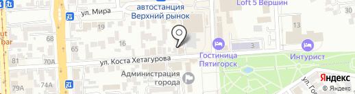 Русский Ломбард КМВ на карте Пятигорска