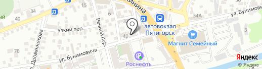 Бери Рули на карте Пятигорска