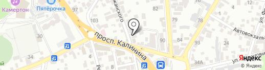 Шашлычная на карте Пятигорска