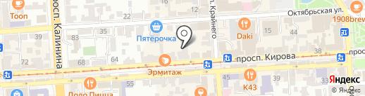 Ностальжи на карте Пятигорска