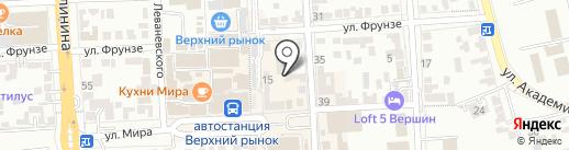 Коллегия адвокатов №127 на карте Пятигорска