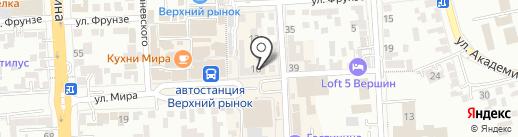 Fahrenheit на карте Пятигорска