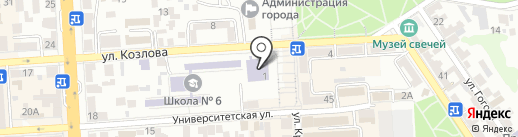 Кавказская неделя на карте Пятигорска