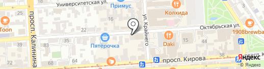 Monet на карте Пятигорска