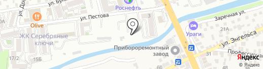 Уралэлектромедь-Лермонтов-Вторцветмет на карте Пятигорска