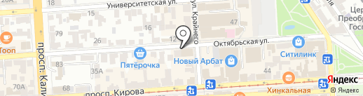 ВИСТ Медиа на карте Пятигорска