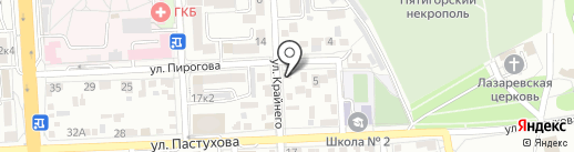 Научно-экспериментальный диагностический центр на карте Пятигорска
