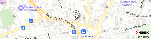 Швейное оборудование на карте Пятигорска