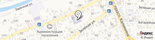 Средняя общеобразовательная школа №26 на карте Свобод