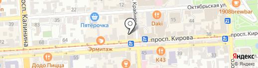 Colin`s на карте Пятигорска