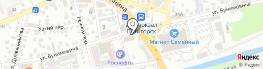 Скорая Кредитная Помощь на карте Пятигорска