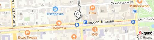МегаФон на карте Пятигорска