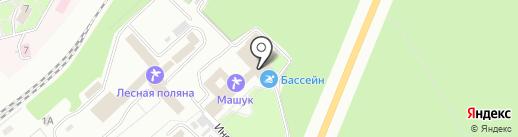 Машук ВОС на карте Пятигорска