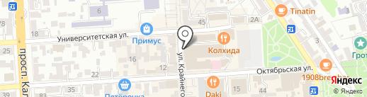 Почта банк, ПАО на карте Пятигорска