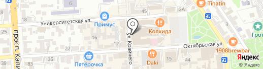 SushiLand на карте Пятигорска