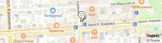 Ростелеком, ПАО на карте Пятигорска