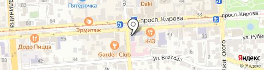 Ставропольский институт им. В.Д. Чурсина на карте Пятигорска
