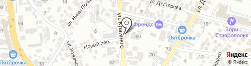 Управление жилым фондом на карте Пятигорска
