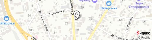 ФАРН-ир на карте Пятигорска