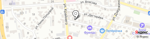 СВОИ на карте Пятигорска