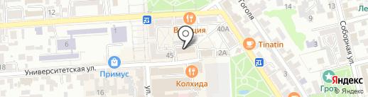 Emfa на карте Пятигорска