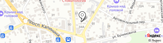 Best Tour на карте Пятигорска