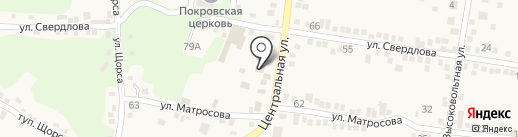 Росток на карте Свобод