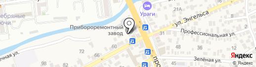 Пятигорский Прибороремонтный завод на карте Свобод