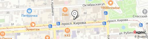 Богема на карте Пятигорска