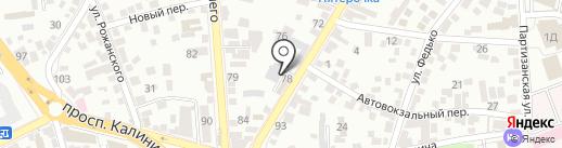 Пятигорские инженерные сети, МУП на карте Пятигорска