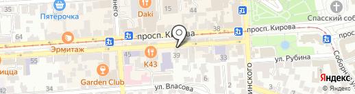 Дом национальных культур на карте Пятигорска